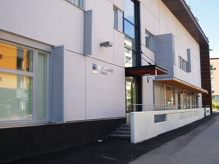 Kortermaja Kanava Asukoht: Aurinkotuulenkatu 11, Helsingi, Soome  Tellija: Rakennuskultti OY Valmimisaasta: 201